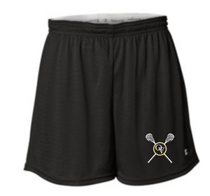 QUAKER VALLEY GIRLS LACROSSE LADIES MESH SHORTS