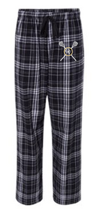 QUAKER VALLEY LACROSSE YOUTH & ADULT PLAID FLANNEL PANTS WITH POCKETS