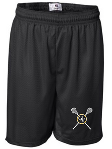 "QUAKER VALLEY BOYS LACROSSE YOUTH 6"" AND MEN'S 7"" MESH SHORTS"