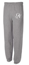 Load image into Gallery viewer, QUAKER VALLEY TRACK AND FIELD: QVMS YOUTH & ADULT SWEATPANTS FOR 2021 SEASON