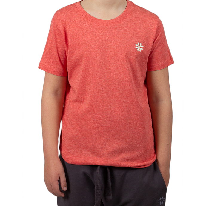 Kids Heather Red T-shirt
