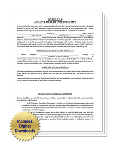 Residential Lease Form Instant Download