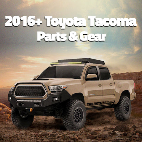 2016+ Toyota Tacoma Parts & Accessories