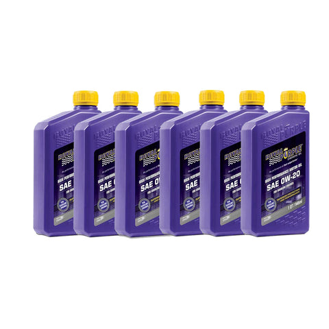 Royal Purple 0w20 Synthetic Motor Oil (6 Quarts) - Toyota Tacoma / 4Runner - TheYotaGarage