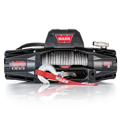 Warn VR EVO 10-S 10,000lb Winch w/ Synthetic Cable (103253) - TheYotaGarage