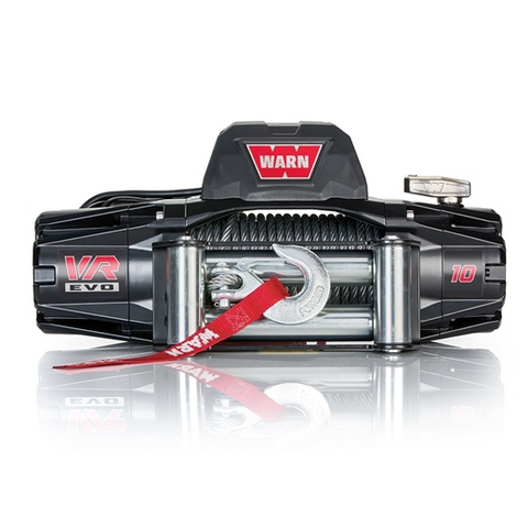 Warn VR EVO 10 10,000lb Winch w/ Steel Cable (103252) - TheYotaGarage