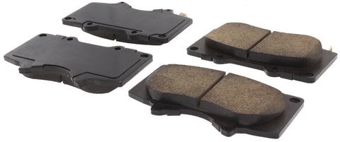 StopTech Posi-Quiet Ceramic Front Brake Pads 2014+ Toyota 4Runner (105.09761) - TheYotaGarage