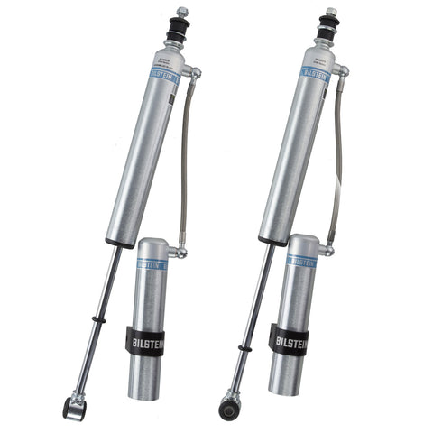 "Bilstein 5160 Remote Reservoir 0-1.5"" Rear Shocks - 2005+ Toyota Tacoma (25-242539_25-242379) - TheYotaGarage"