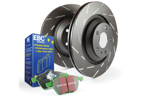 EBC S2 Kits Greenstuff 6000 and USR Rotors - TheYotaGarage