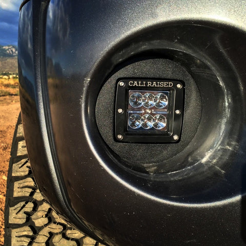 Cali Raised LED Fog Light Pod Combo - 2005-2011 Toyota Tacoma - TheYotaGarage