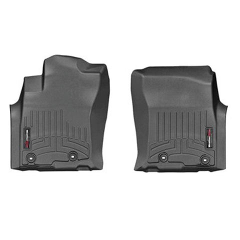 WeatherTech Front DigitalFit FloorLiner | Black - 2014+ Toyota 4Runner - TheYotaGarage