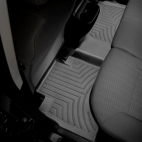 WeatherTech Rear DigitalFit FloorLiner | Black - 2016+ Toyota Tacoma - TheYotaGarage