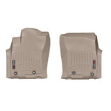 WeatherTech Front DigitalFit FloorLiner | Tan - 2014+ Toyota 4Runner - TheYotaGarage