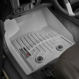 WeatherTech Front DigitalFit FloorLiner | Grey - 2016+ Toyota Tacoma - TheYotaGarage