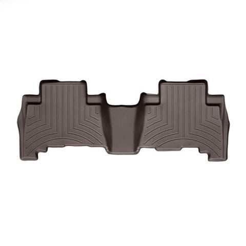 WeatherTech Rear DigitalFit FloorLiner | Cocoa - 2014+ Toyota 4Runner - TheYotaGarage