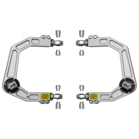ICON Vehicle Dynamics Delta Joint Billet Aluminum Upper Front Control Arms 2016+ Toyota Tacoma (58550DJ) - TheYotaGarage
