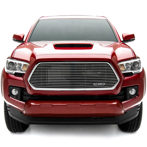T-Rex Polished Billet Grille - 2016+ Toyota Tacoma (6219420) - TheYotaGarage