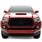 T-Rex Black Stealth Grille - 2016+ Toyota Tacoma (6719411-BR) - TheYotaGarage