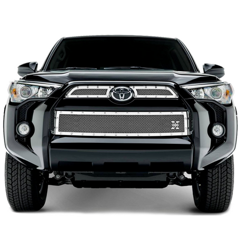 T-Rex X-Metal Stainless Steel Mesh Grille - 2014+ Toyota 4Runner (6719490) - TheYotaGarage