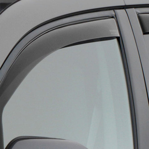 WeatherTech Front Side Window Deflectors | Dark Smoke - 2016+ Toyota Tacoma (80792) - TheYotaGarage