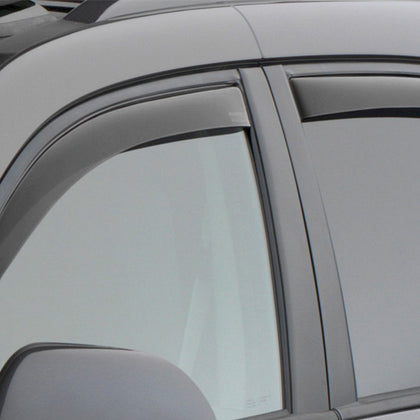 WeatherTech Front & Rear Side Window Deflectors | Dark Smoke - 2016+ Toyota Tacoma (82792) - TheYotaGarage