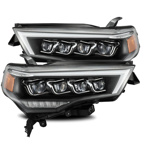 AlphaRex NOVA-Series LED Projector Headlights Black 2014+ Toyota 4Runner (880725) - TheYotaGarage
