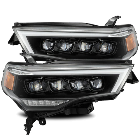 AlphaRex NOVA-Series LED Projector Headlights Alpha-Black 2014+ Toyota 4Runner (880723) - TheYotaGarage