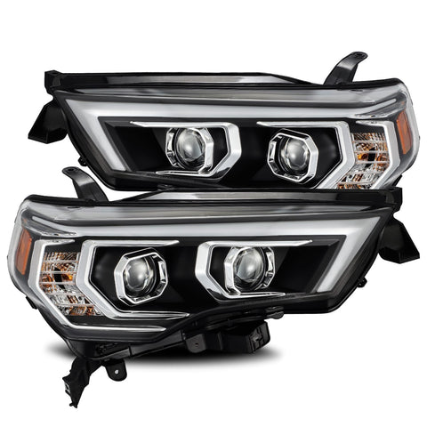 AlphaRex PRO-Series Projector Headlights Black 2014+ Toyota 4Runner (880732) - TheYotaGarage