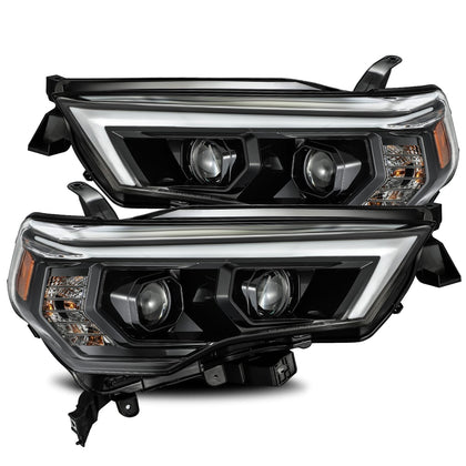 AlphaRex PRO-Series Projector Headlights Alpha-Black 2014+ Toyota 4Runner (880726) - TheYotaGarage
