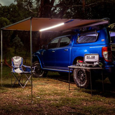 ARB Rooftop Awning w/ LED Light- 6.5 Feet (814409) - TheYotaGarage