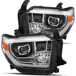 AlphaRex PRO-Series Projector Headlights Chrome - 2014-2020 Toyota Tundra (880798) - TheYotaGarage