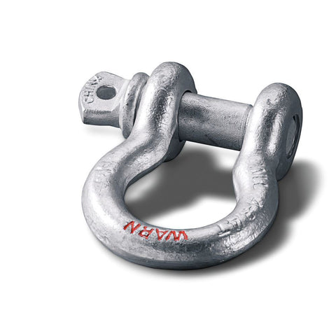 "Warn Clevis D-Shackle 3/4"" with 7/8"" PIN - 18,000LB (88999) - TheYotaGarage"