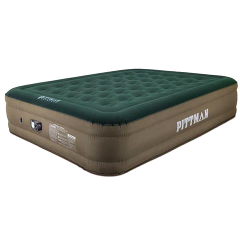"Pittman Queen Double High Indoor/Outdoor Ultimate Fabric 16"" Double High w/ Portable Rechargeable Battery (PPI-CAMPX16) - TheYotaGarage"