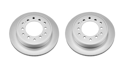 PowerStop Evolution Blank Rear Rotors 2014+ Toyota 4Runner (JBR1396EVC) - TheYotaGarage