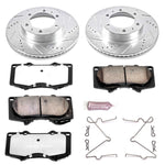 PowerStop Z36 Front Brake Kit Pads and Rotors 2016+ Toyota Tacoma (K137-36) - TheYotaGarage