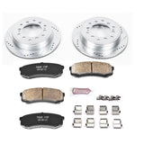 PowerStop Z23 Rear Brake Kit Pads and Rotors 2014+ Toyota 4Runner (K5875) - TheYotaGarage