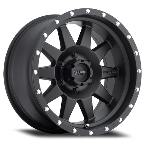Method 301 Standard Wheel | Matte Black - Toyota 2016+ Tacoma/2014+ 4Runner - TheYotaGarage