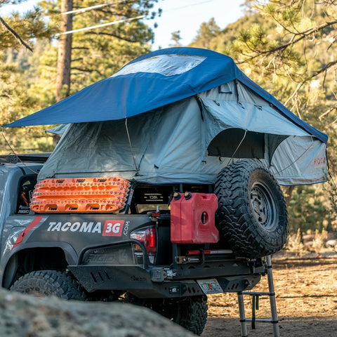 ROAM Adventure Co. Vagabond Rooftop Tent - Slate Grey / Navy Blue - TheYotaGarage