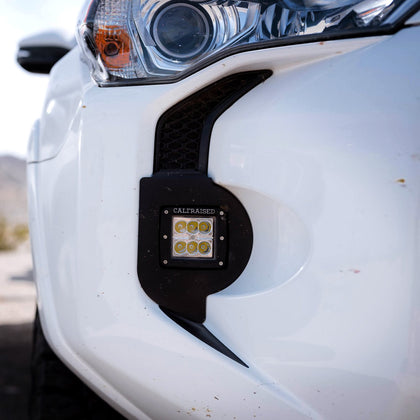 Cali Raised LED Fog Light Pod Combo - 2014+ Toyota 4Runner - TheYotaGarage