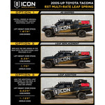 ICON Vehicle Dynamics Stage 8 Suspension Kit 2016+ Toyota Tacoma - TheYotaGarage