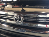 "Cali Raised 42"" Hidden Grille Curved LED Light Bar - 2014+ Toyota Tundra - TheYotaGarage"