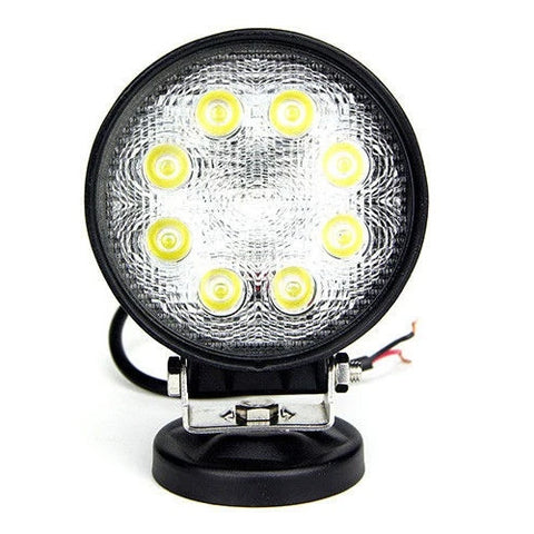 Cali Raised Round Led Flood Work Light 27W (CRPOD008) - TheYotaGarage