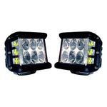 Cali Raised Side Projecting LED Pods 27W Pair (CRPOD005) - TheYotaGarage