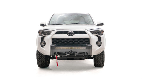 Fab Fours Hidden Winch Mount Front Bumper - 2014+ Toyota 4Runner - TheYotaGarage