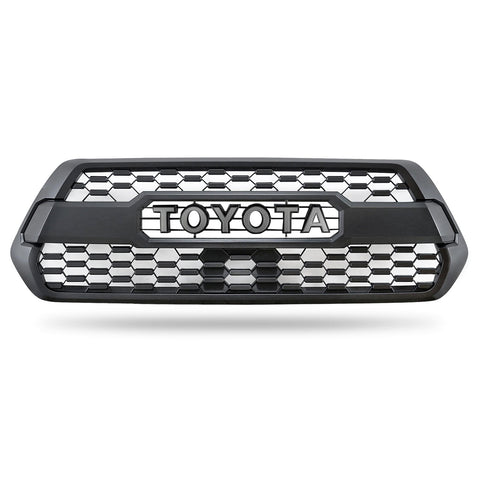 TRD Pro Style Grille - 2016+ Toyota Tacoma - TheYotaGarage