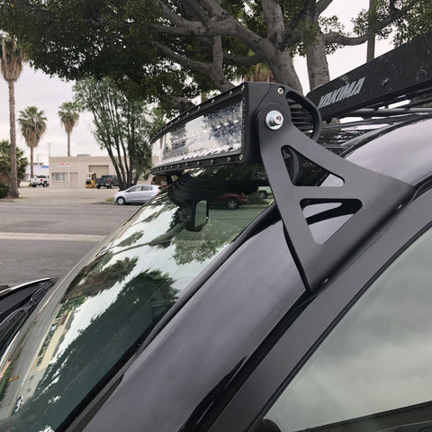 "Cali Raised 52"" Curved Roof LED Light Bar Combo - 2003+ Toyota 4Runner - TheYotaGarage"