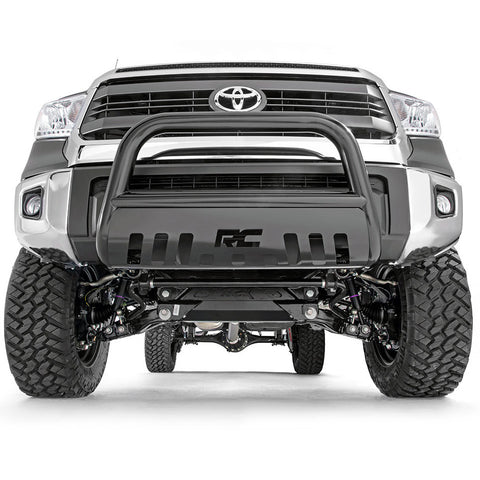 Rough Country Black Bull Bar | 2007+ Toyota Tundra ( B-T2071) - TheYotaGarage