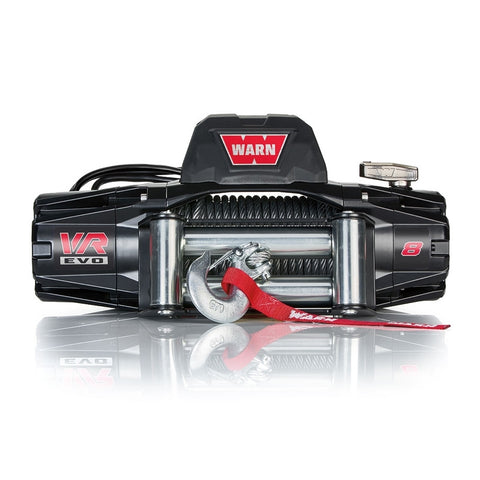 Warn VR EVO 8 8,000lb Winch w/ Steel Cable (103250) - TheYotaGarage