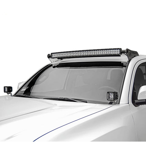 "ZROADZ Roof LED Light Bar Mount w/40"" Curved LED Light Bar Kit - 2016+ Toyota Tacoma (Z369401-KIT-C) - TheYotaGarage"