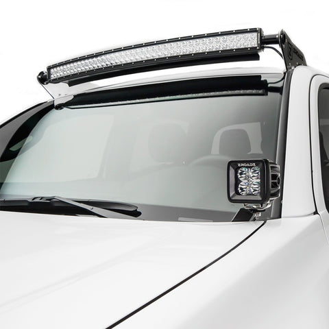 "ZROADZ Hood Hinges Mounting Kit w/2 3"" POD LED Lights - 2016+ Toyota Tacoma (Z369401-KIT2) - TheYotaGarage"